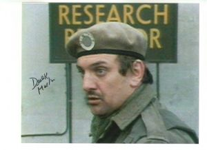 Derek Martin from Dr Who and Eastenders